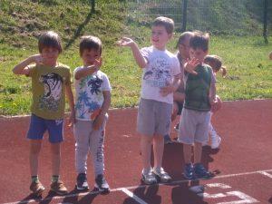 Tudi naši najmlajši na Ormoškem polmaratonu
